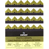 CANSON 100510401 Self Adhesive Photo Corners, Gold