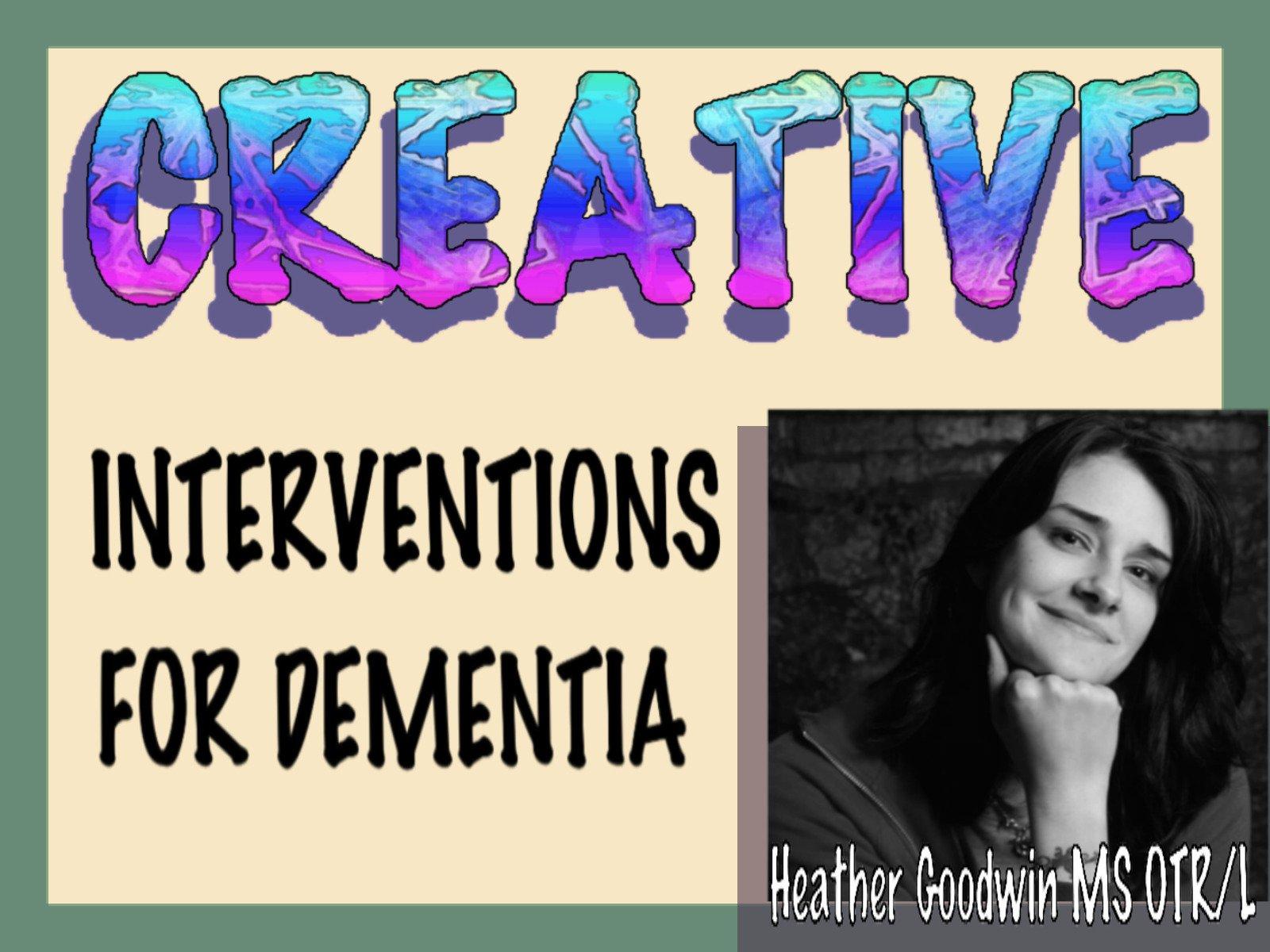 The Creative Interventions for Dementia - Season 1