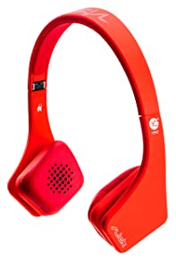 Vibe Slick VHSLICKONR V3 On Ear Headphones   RedCustomer reviews