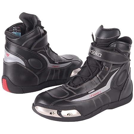 Modeka lE mANS 2 bottes de moto en cuir noir