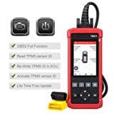 LAUNCH TS971 TPMS Relearn Reset Activation Tool with OBD2 Full Function Car Diagnostic Scan Tool Code Reader (Tamaño: TS971)