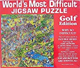 Worlds Most Difficult Jigsaw Puzzle Golf Edition by Unknown