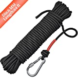 Syiswei Nylon Fishing Rope & Carabiner 1/4