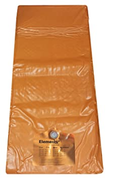 Elements® Qualitäts Wasserkern Softside Dual Rechts Gel Technik (200x210 cm)