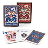Bicycle Dragon Back 2 Pack Playing Cards, 2 Pack, Dragon Back (Tamaño: 1 PACK)