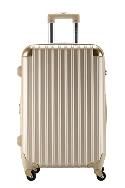 Rose Gold Suitcase Golden Ambassador Luggage Spinner Series