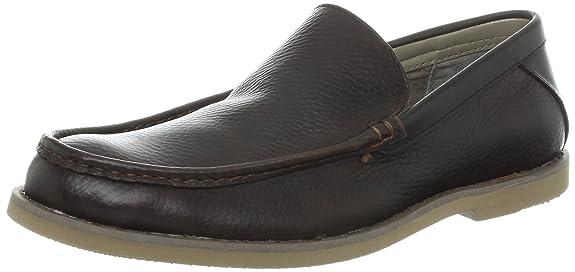 海淘乐福鞋:Calvin Klein CK男款真皮乐福鞋