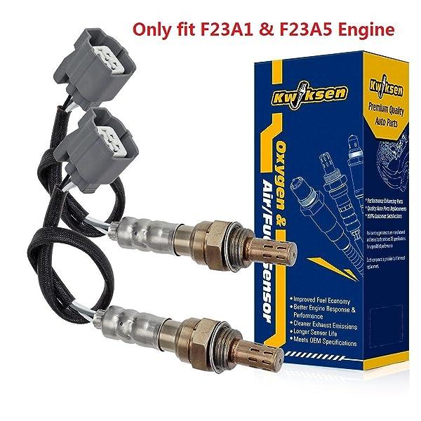 2Pcs Upstream Downstream O2 Oxygen Sensor For Toyota Pickup L4 2.4L 1992