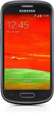 Samsung Galaxy S3 Mini GT-I8200N Smartphone, Display 4 Pollici, Fotocamera 5 MP, Memoria 8GB, Android 4.2, Noir (EU)
