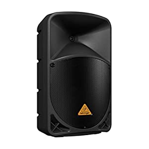 Behringer B112W 1000W Active 2-Way 12-Inch PA Bluetooth Speaker System with Tri-Pod Stands (Pair) and 2 XLR Microphone Cable