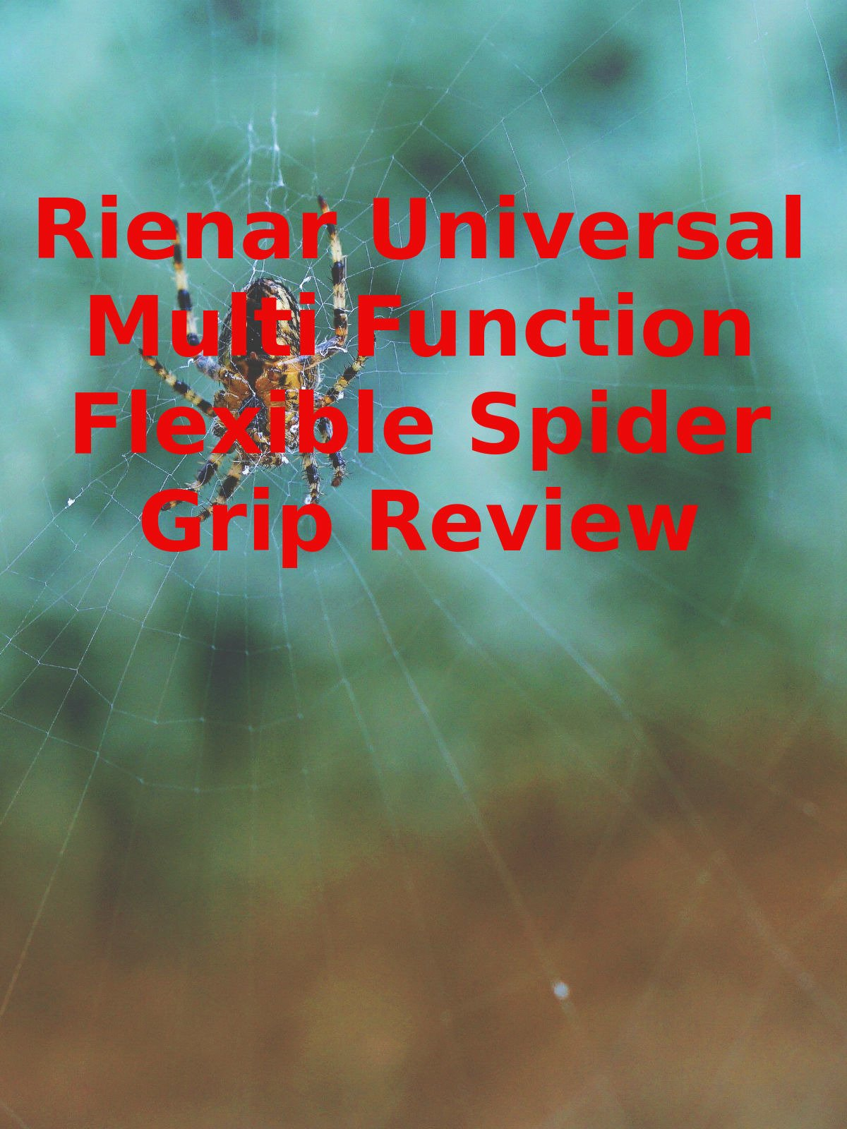 Review: Rienar Universal Multi Function Flexible Spider Grip Review on Amazon Prime Video UK