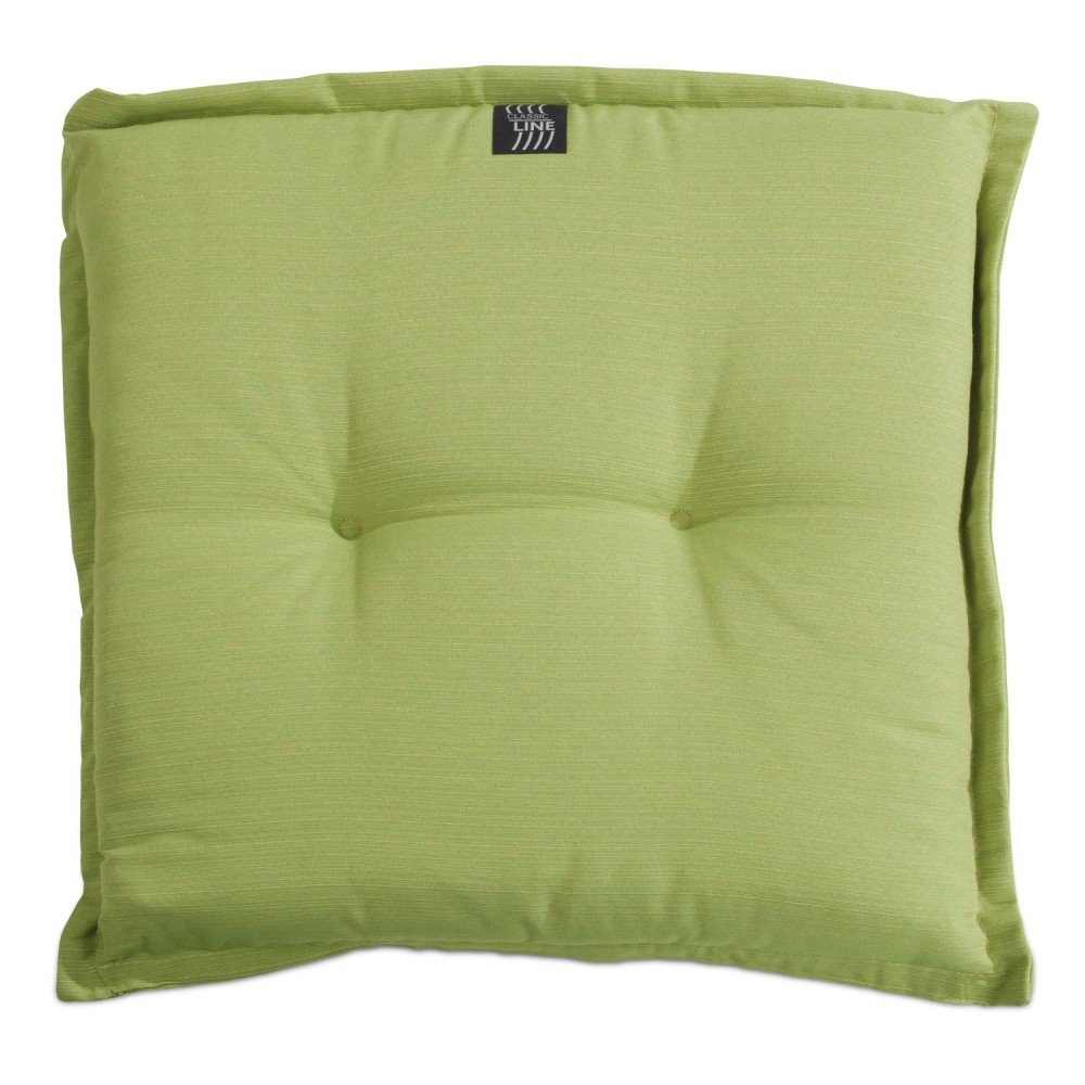 Hockerauflage Stuhlkissen grün 50 x 50 cm Lime 2 günstig online kaufen