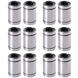 XCSOURCE 12PCS Linear Bearings LM8UU 8MM1524 RepRap 3D Printer Prusa Mendel CNC TE249
