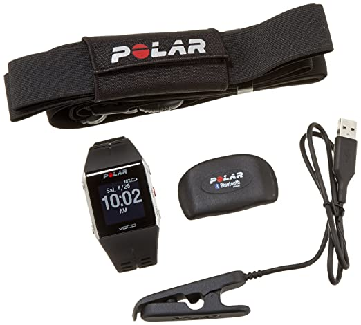 Polar Equine - V800 noir - Emetteur de fréquence cardiaque Equin H7 - Sangle Equine
