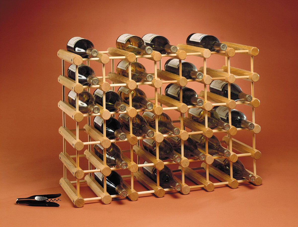 wooden wine rack ikea