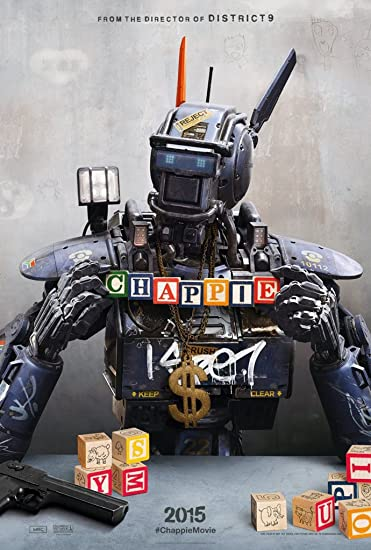 CHAPPIE MOVIE POSTER 2 Sided ORIGINAL Advance 27x40 NEILL
