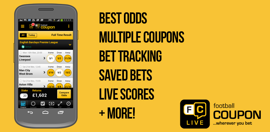 Corals football betting coupons