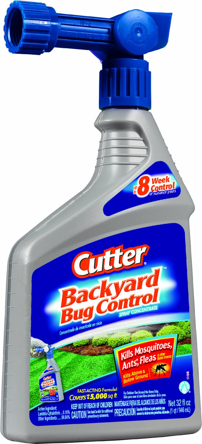 Cutter Backyard Bug Control 32 oz Ready-to-Spray Hose End ...