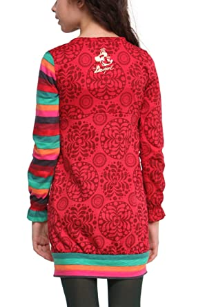 Robe Desigual Yunque Nc Couleur Rouge Taille 4 Dftgyhujikokjhgfff