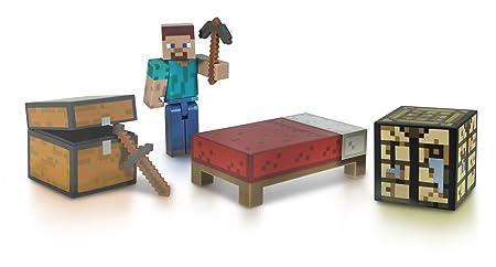 Minecraft - 2421 - Figurine Animation - Coffret Survie avec Accessoires