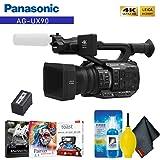 Panasonic AG-UX90 4K/HD Professional Camcorder Base Accessory Kit (Tamaño: Base)