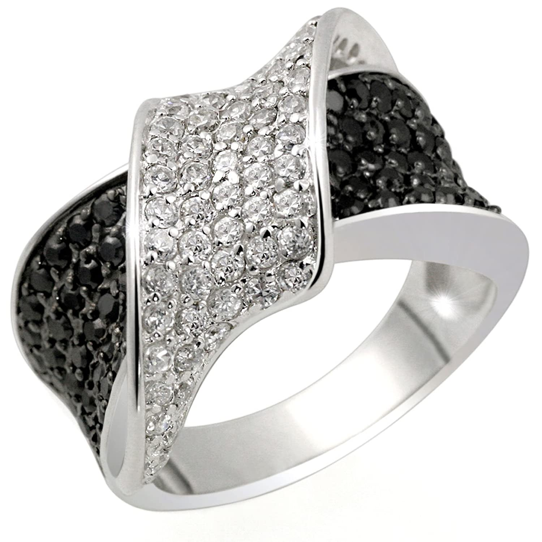 goldmaid Damenring Silber 925 Band aus weissen Zirkonia, Pa R3831S jetzt bestellen