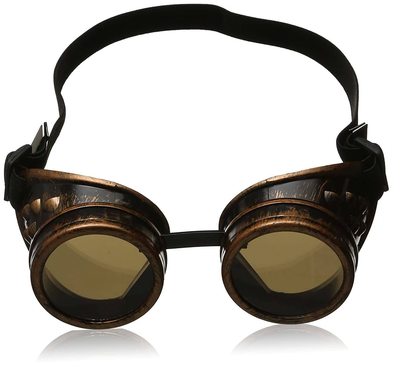 Leegoal(TM) Vintage Steampunk Goggles Glasses Welding Cyber Punk Gothic 3