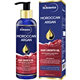 StBotanica Moroccan Argan Hair Growth Oil (With Pure Argan, Jojoba, Almond, Castor, Olive, Avocado, Rosemary Oils), 200ml (Tamaño: 200 ml)
