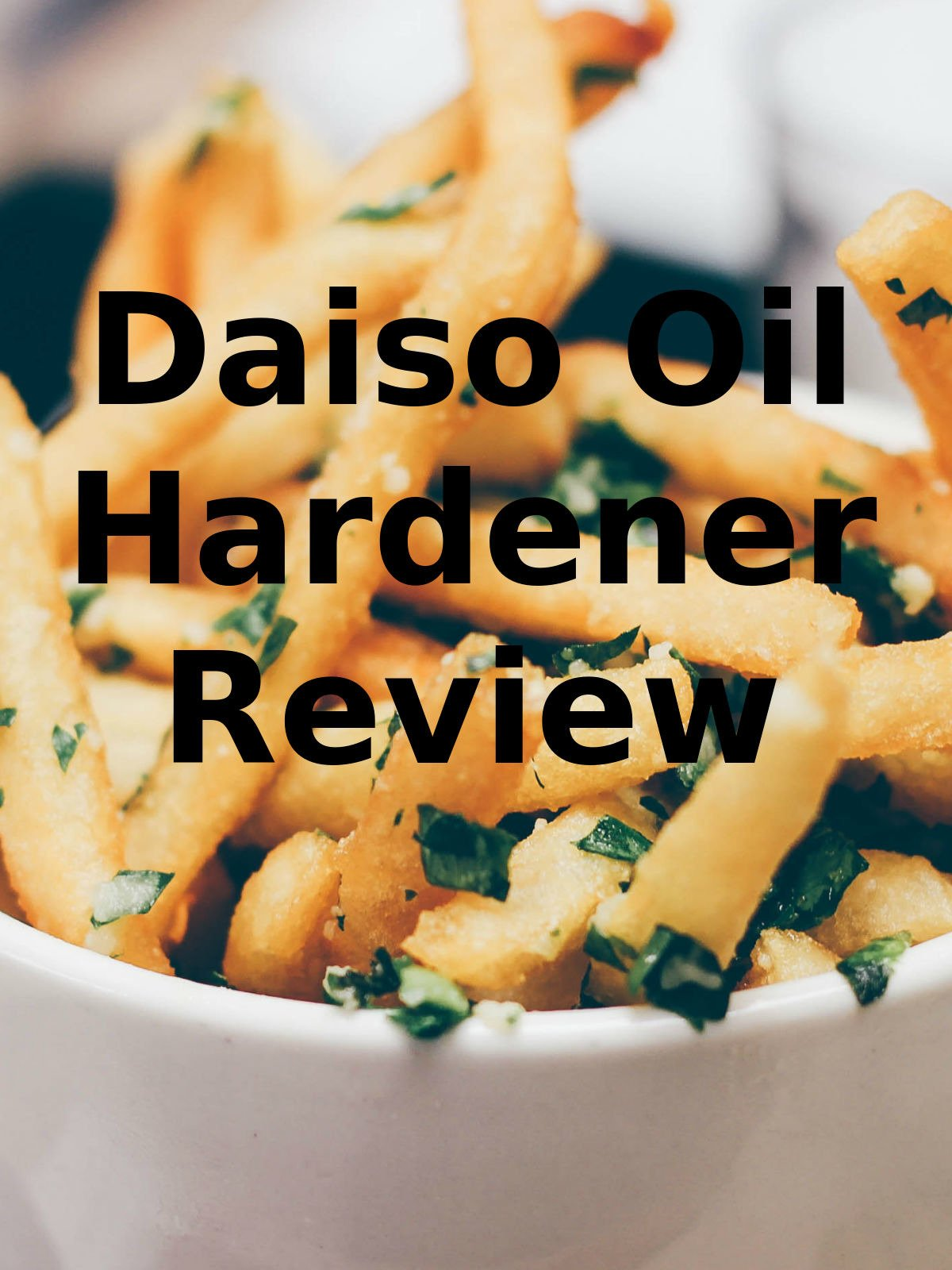 Review: Daiso Oil Hardener Review