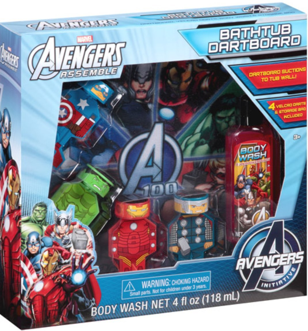 Marvel Avengers 7pc Bath Set $5.00 With Free Ship To Store From Walmart!