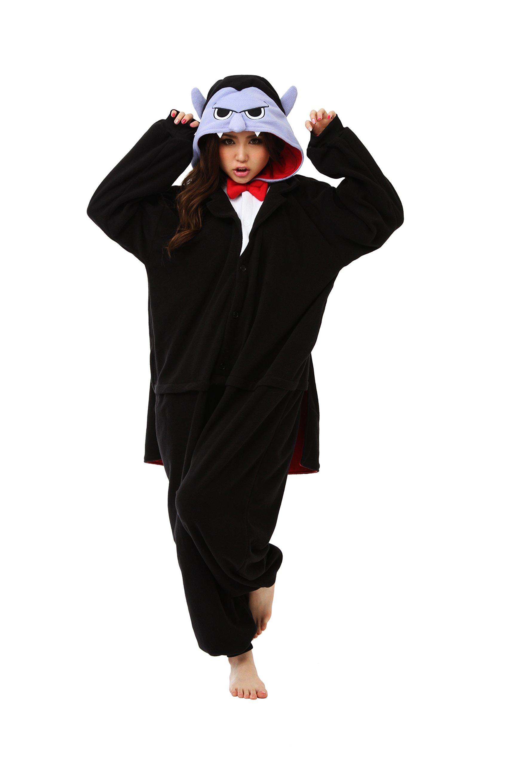 Vampire Kigurumi - Adult Costume (a.k.a Dracula)