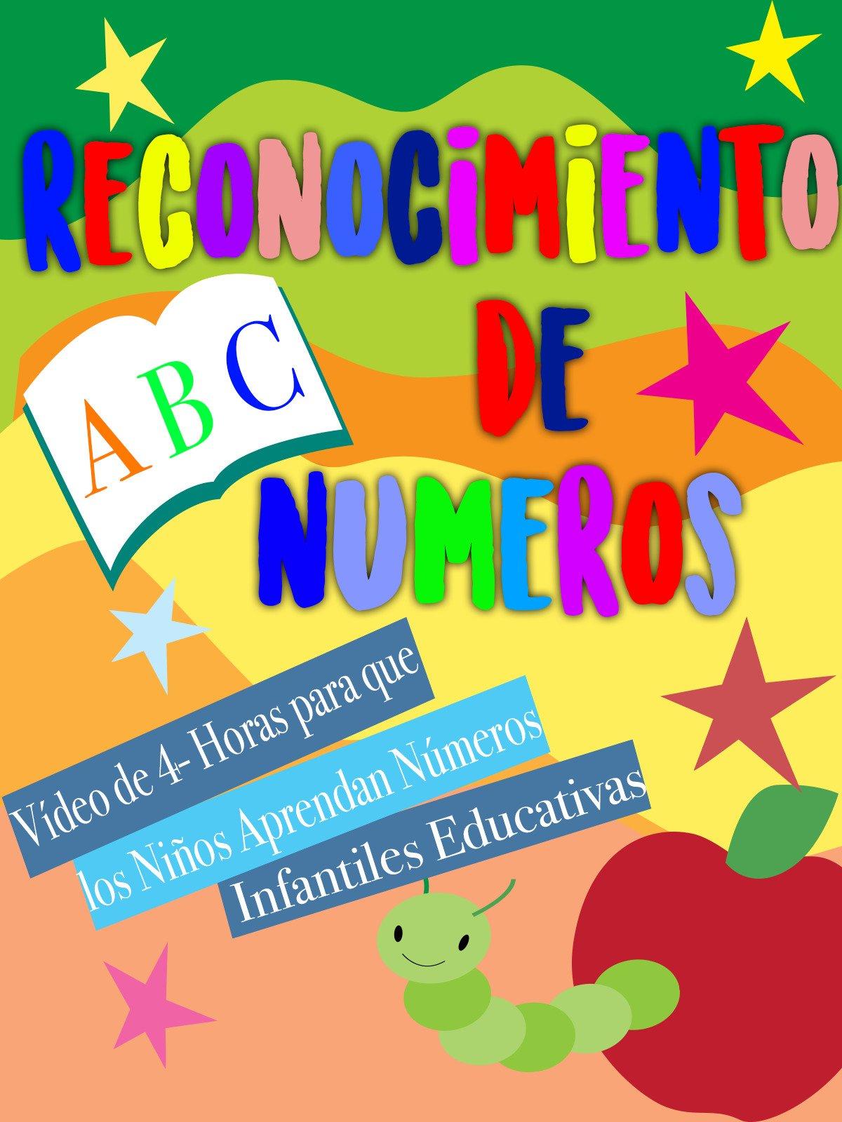 Reconocimiento De Números Video de 4- Horas para que los Niños Aprendan Números Infantiles Educativas