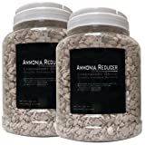 2 Pack 35 ounce (Total 70oz.) -Premium Laboratory Grade Zeolite Ammonia Reducer with Free Media Bag Inside Each Jar (2 Pack - 35oz. [70oz.]) (Tamaño: 2 Pack - 35oz. [70oz.])