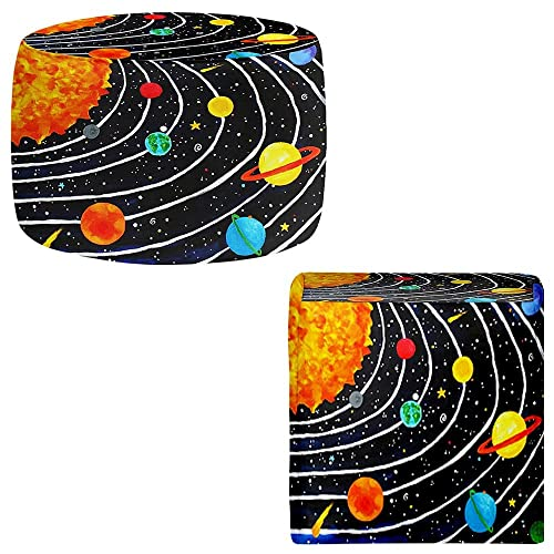 Outer space decor tktb for Solar system fleece