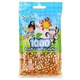 Perler Gold Beads for Kids Crafts, 1000 pcs (Color: Gold)