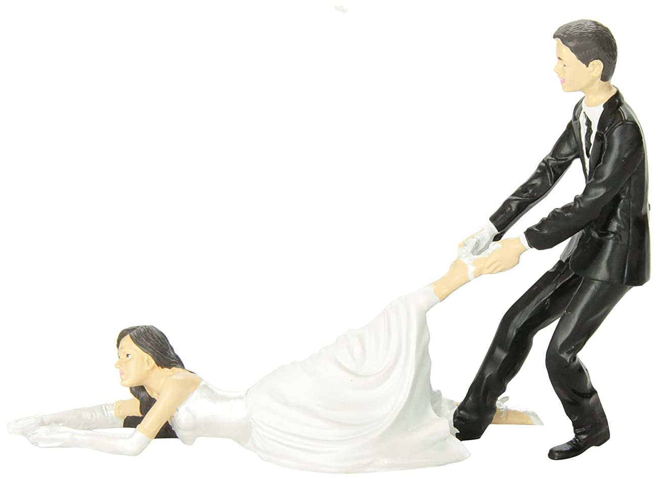 Accoutrements Reluctant Bride Cake Topper 0