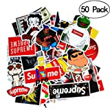 Stickers [50 PCS], Waterproof Vinyl Stickers for Laptop, Car, Bicycle, Helmet, Skateboard, Luggage Dream Level No-Duplicate Stickers per Set. (Color: 50-B)