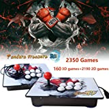 PinPle Arcade Game Console 1080P 3D & 2D Games 2350 2 in 1 Pandora's Box 3D 2 Players Arcade Machine with Arcade Joystick Support Expand Games for PC / Laptop / TV / PS4 (KOF) (Color: Kof)