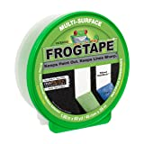 FrogTape 1358464 Multi-Surface Painting Tape, 1.88 Inches Wide x 60 Yards Long, Single Roll, Green