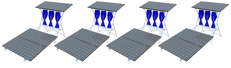 Amazon.com : My SolarMill A 4 KW Wind & Solar Hybrid | 24-hour ...