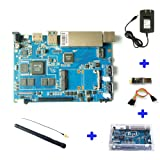 Banana PI BPI R2 Smart Home Wire 2G LPDDR3+8GBEMMC Open-source Development Board Single Board compatible with raspberry pi with powerful accessories