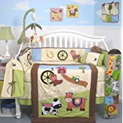 Sumersault Choo Choo Baby Bedding Collection