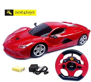 zest 4 toyz steering remote control racing car assorted design colors