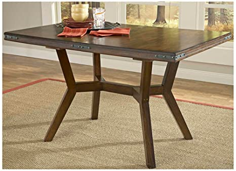 Hillsdale Arbor Hill Extension Dining Table, Colonial Chestnut