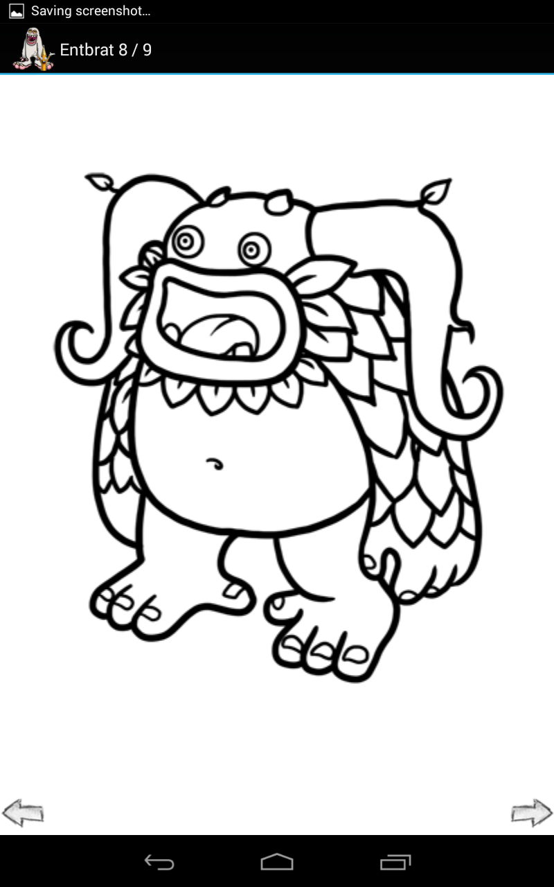 My Singing Monsters Dawn Of Fire Coloring Pages