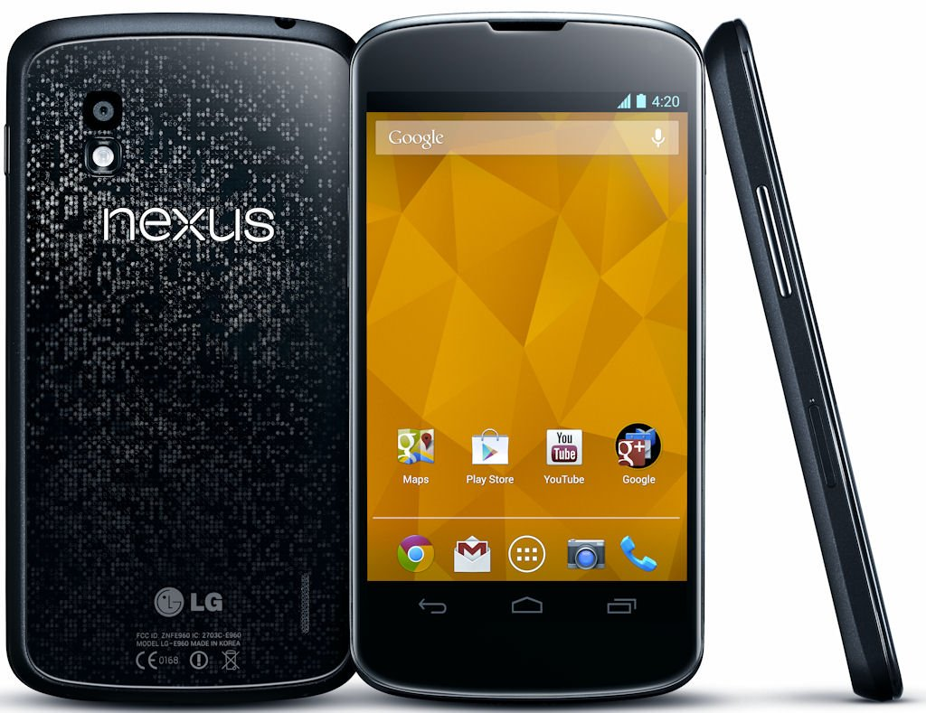 Google Nexus 4 : Best smartphone to buy in 2013 by price categories