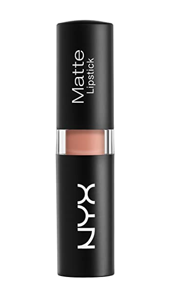 Buy Nyx Professional Makeup Matte Lipstick, Nude, 4.5g Online at ...