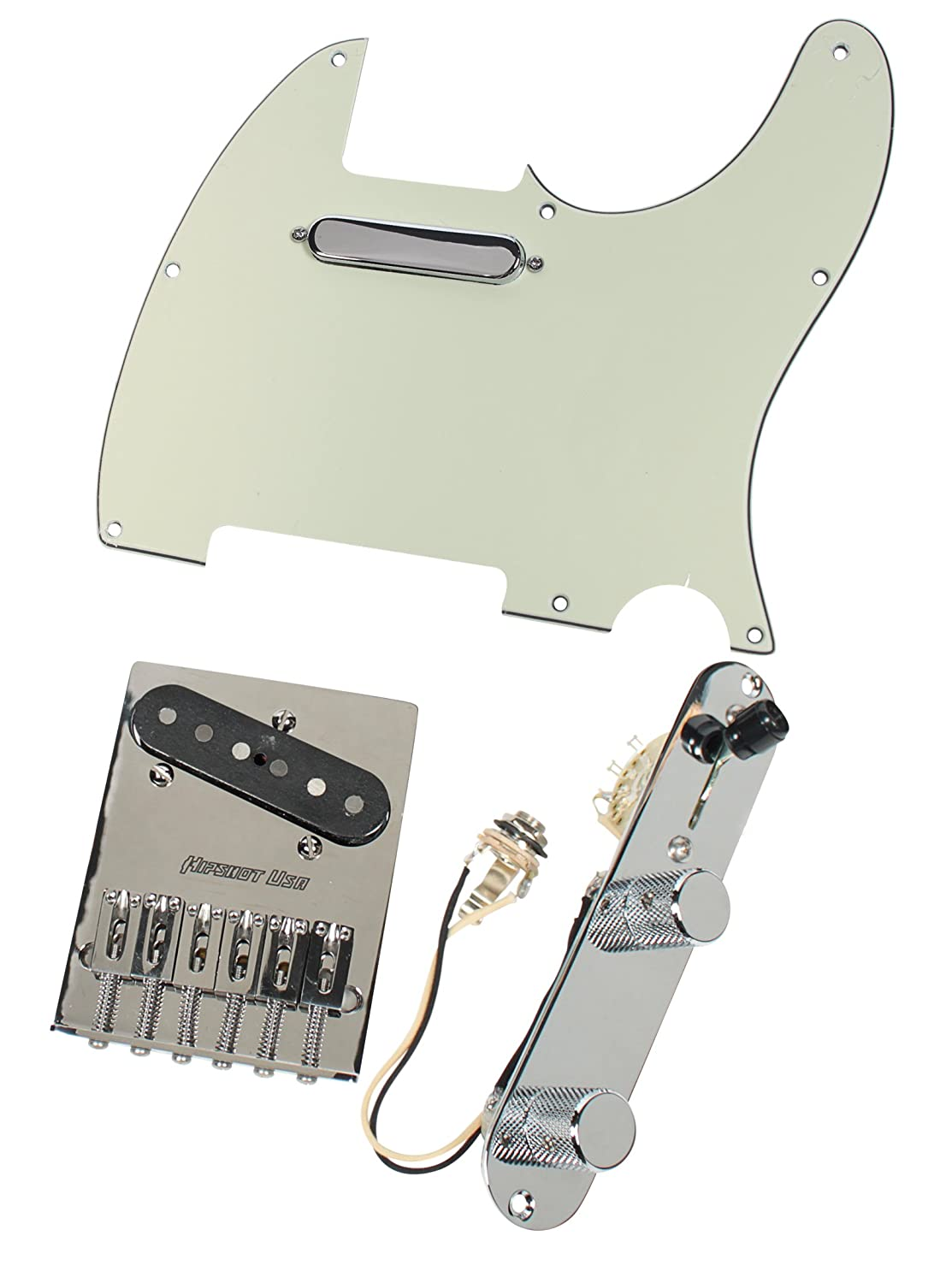 Fender Tele Telecaster Loaded Pickguard CS51 No Caster Pickups Hipshot Bridge MG