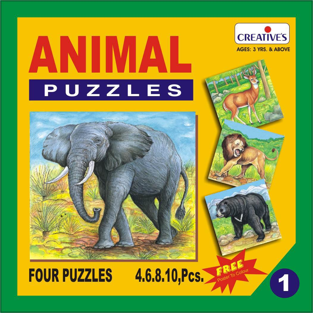 Creative Educational Animal Puzzle -Buy Now