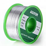AUSTOR 0.6mm Lead Free Solder Wire with Rosin Core
